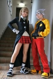 Best cosplay Soul Eater female maaka soulbarn anime streaming manga tv legal gratuit