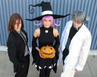 Best cosplay Soul Eater trio stein spirit albarn excalibur blair anime streaming manga tv legal gratuit