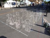 3d-street-painting-art-EPFL-chalk-leon-keer-armee-lego-army-anime-online-manga-tv-streaming-legal-gratuit-1
