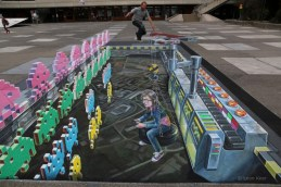 3d-street-painting-art-EPFL-chalk-leon-keer-space-invaders-anime-online-manga-tv-streaming-legal-gratuit-1