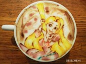 rapunzel-raiponce-Latte-Artist-Belcorno-Amazing-Anime-art-manga-online-streaming-legal-gratuit