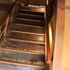 Steile (steile steile) Treppe
