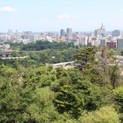 Ausblick auf Sendai