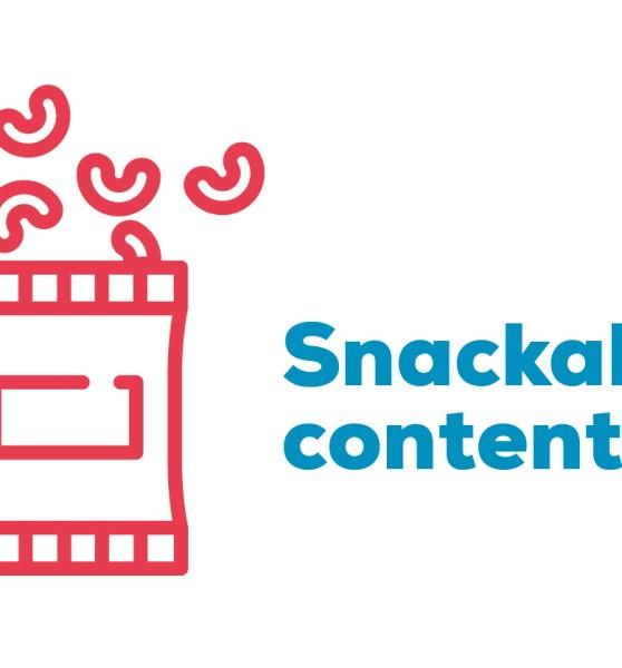 El auge del snackable content