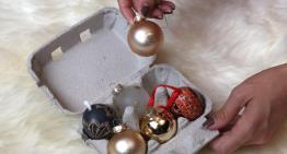 10 Upcycled Christmas Decoration Storage Ideas