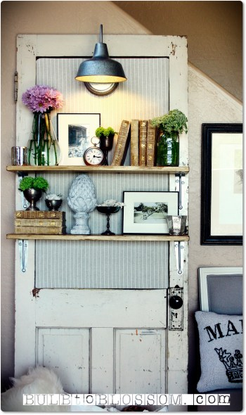 upcycled door projects Shelf Handy Mano ManoMano Mano Mano Handymano