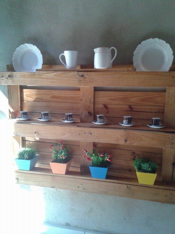 Pallet Projects Shelf Kitchen Handy Mano ManoMano Mano Mano Handymano