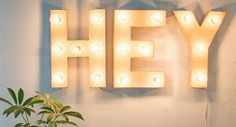 Create A Simple And Stunning DIY Marquee Sign