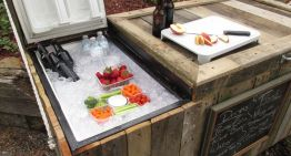 How To Make An Easy Outdoor Fridge
