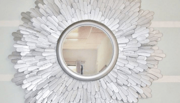 12 Stunning Upcycled Mirror Frames