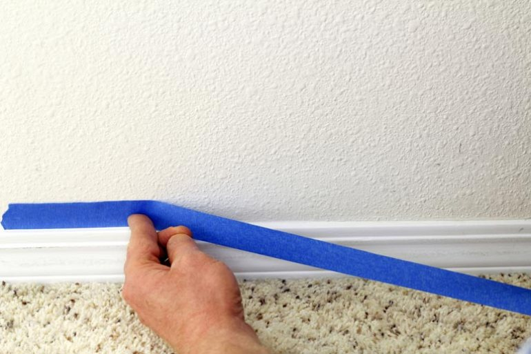smooth paint finish paint the handy mano manomano painting trim paint tape masking