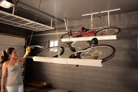 garage storage solutions uk ideas the handy mano manomano ceiling store bike rack