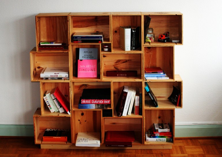DIY shelving ideas shelves shelf the handy mano manomano box crate shelf stacked easy