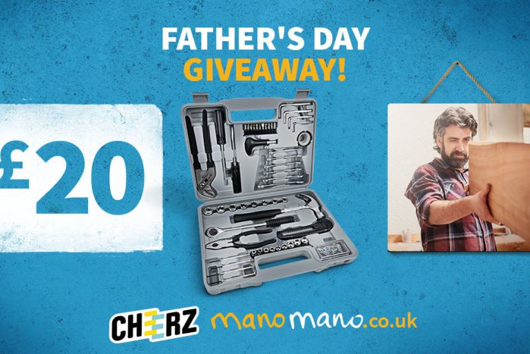 Fathers day father's competition hand tools gift voucher canvas ManoMano The Handy Mano handymano handy mano mano mano