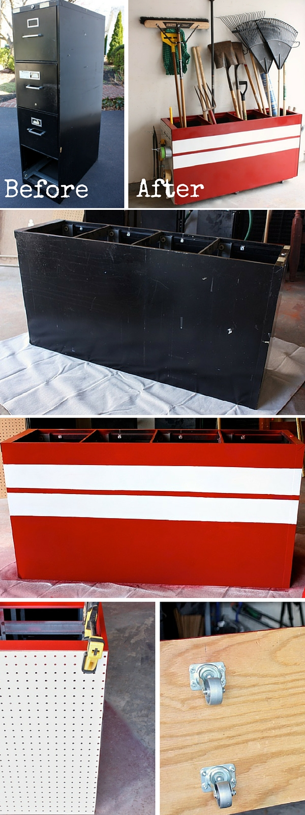 upcycled furniture upcycling reuse DIY The handy mano manomano locker storage