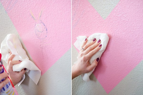 home repair tricks tip hack the hany mano manomano WD-40 crayon walls cleal