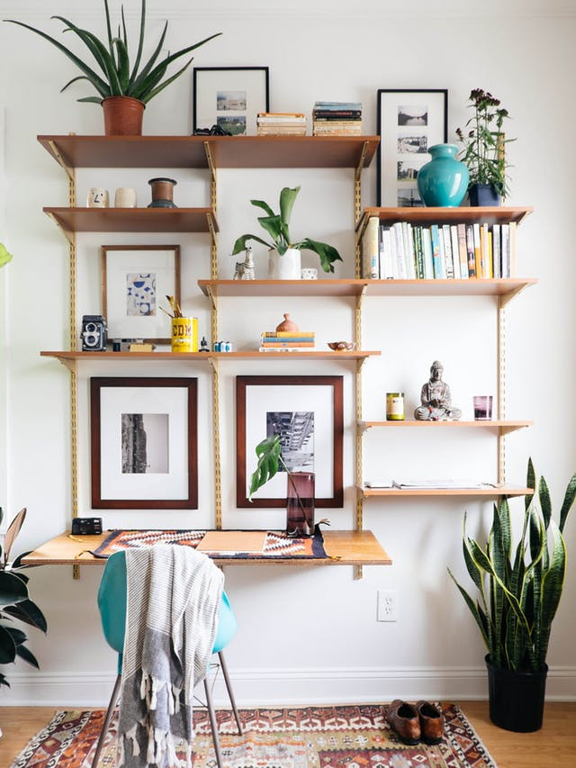 Hacks to Make Your Home Look Expensive the handy mano manomano diy do it yourself shelves gold stained different unique