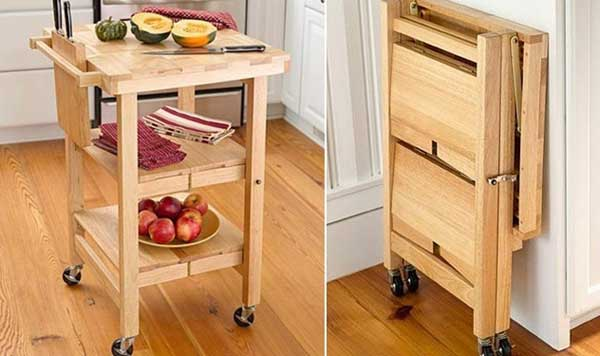 thehandymano the handy mano mano manomano small space solutions diy do it yourself kitchen unit island fold away