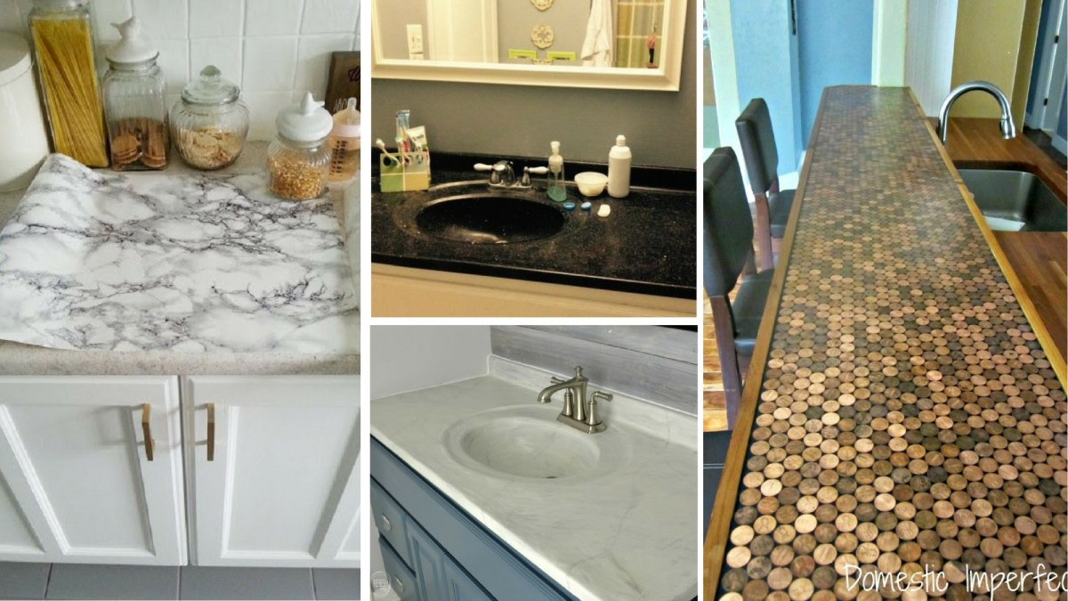 7 Ways To Redo Your Countertops Without Replacing Them