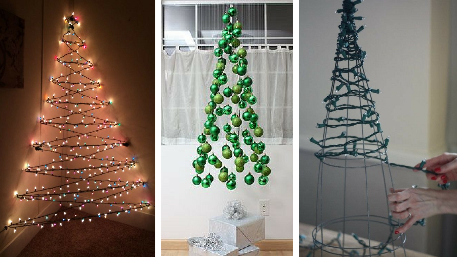 Christmas Tree Alternative.7 Genius Alternative Christmas Trees