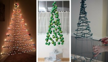 7 Genius Alternative Christmas Trees