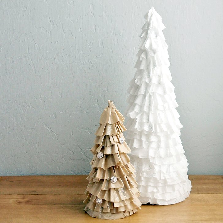 Alternative christmas trees alternative different tree the handy mano manomano mano diy do it yourself festive coffee filter cone