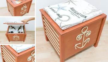 DIY Cool Box (doubles as a Stool or a Table)