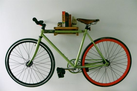 10 Interesting DIY Bike Storage Ideas bike rack indoor display stand hook cool shelf stand