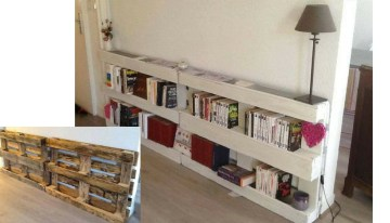 10 Original and Inexpensive Bookshelf Ideas
