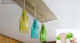 Glass Bottle DIY – Bottle Cutter and Ceiling Light