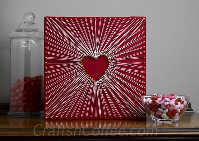 Mother's Day Gift Ideas String Art Homemade Gifts nail and string art diy do it yourself the handy mano manomano