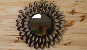 DIY Upcycled Mirror Project and Mirror Hack