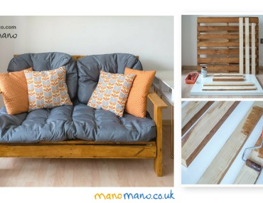 DIY pallet sofa tutorial cover image mano mano