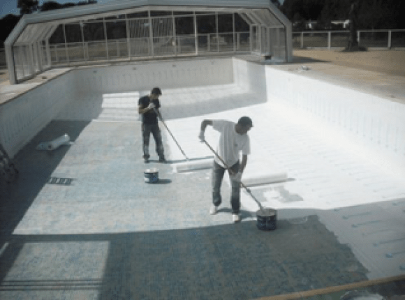 Finishing off your pool walls
