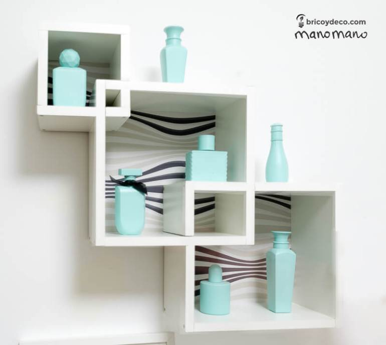 How To Make Intertwining Box Shelves thehandymano handy mano manomano crossover patterned tools materials