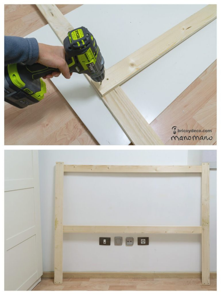 manomano mano the handy mano headboard tutorial drill pallet