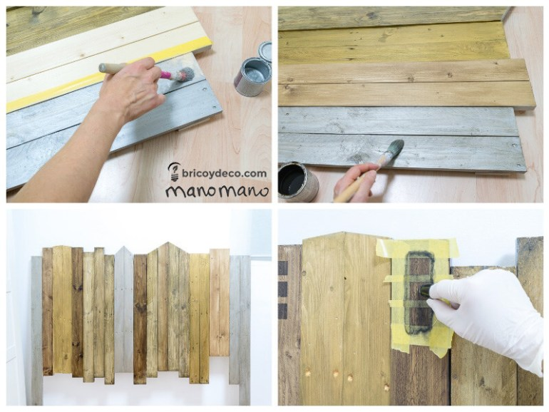 manomano mano the handy mano headboard tutorial paint pallet assembly
