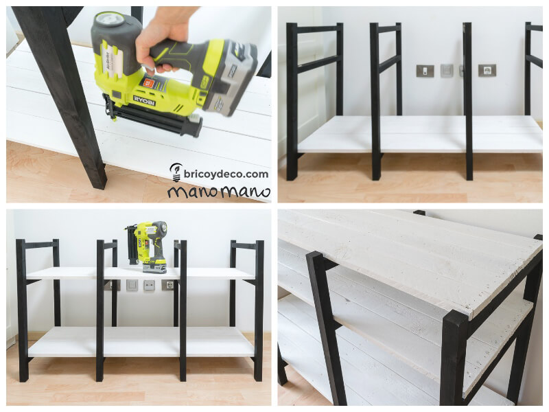 manomano the handy mano pallet tv stand DIY  put together