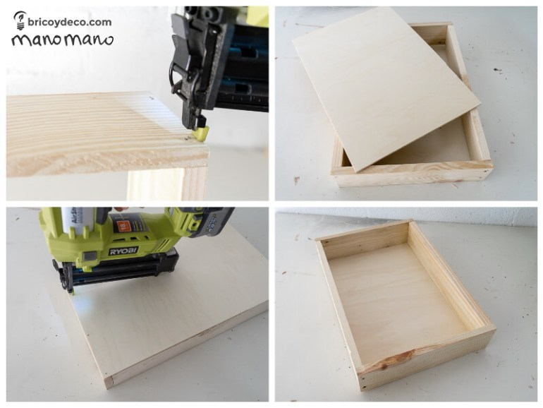 thehandymano mano mano tutorial diy how to make pallet trolley drilling