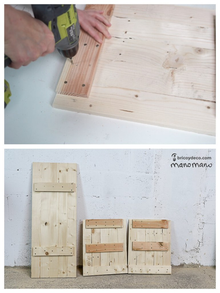 thehandymano mano Outdoor Storage Bench DIY tutorial drill lid and sides