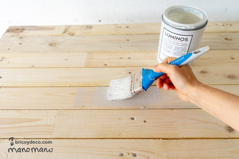 easy pallet projects thehandymano mano mano varnish