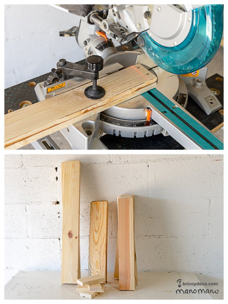 cutting pallet thehandymano mano mano DIY Pallet Garden Table