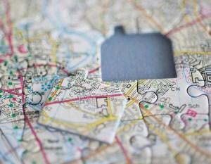 Personalized Map Jigsaw