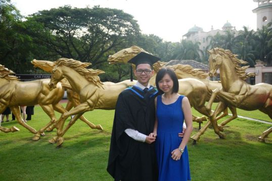 MBA Graduation with my love