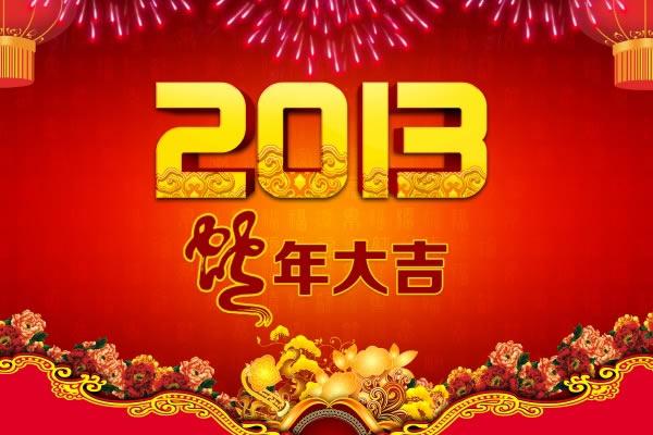 CNY 2013