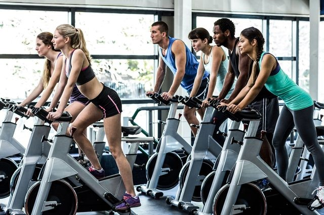 cardiovascular exercise to get your body ready again stationary bike