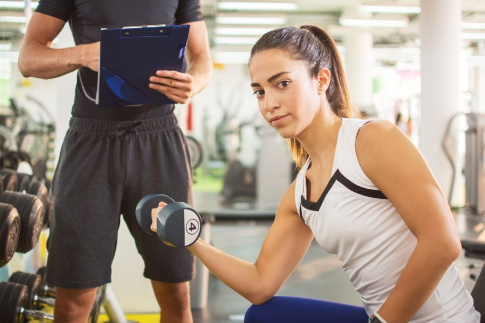 helping your teenager go through their first workout
