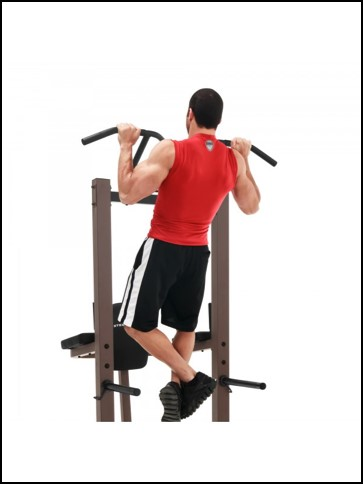 marcy power tower wide grip pull-ups