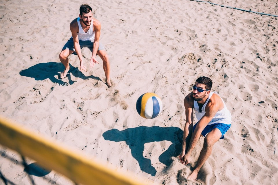 workouts to become a better volleyball player