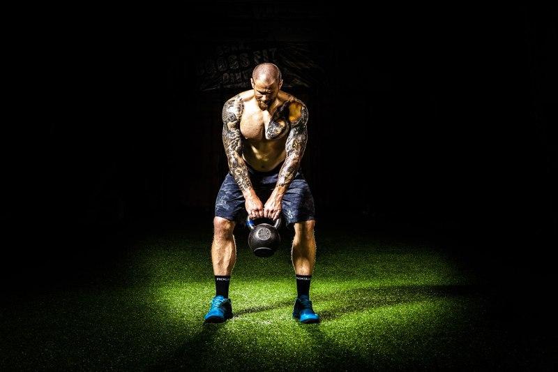 40 squat variations kettle bell